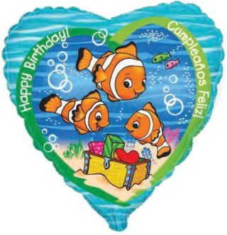 Zlatne ribice | Ribica Nemo Happy Birthday